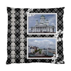 Black And White Cushion Case (2 Sided) By Deborah   Standard Cushion Case (two Sides)   O3djlshzuzui   Www Artscow Com Back