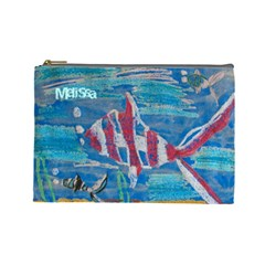 Mrb By Darryl Beers   Cosmetic Bag (large)   T4hcpibtl6fh   Www Artscow Com Front
