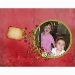 2016 Shabby Rose   Wall Calendar 11x8 5 (12 Mths) By Picklestar Scraps   Wall Calendar 11  X 8 5  (12 Months)   31lhwl70f10d   Www Artscow Com Month