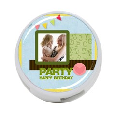 Birthday Party By Joely   4 Port Usb Hub (two Sides)   1cuud5rxqr81   Www Artscow Com Front