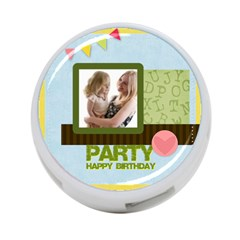 Birthday Party By Joely   4 Port Usb Hub (two Sides)   1cuud5rxqr81   Www Artscow Com Back