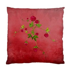 Shabby Rose   Cushion Case (two Sides)  By Picklestar Scraps   Standard Cushion Case (two Sides)   Svt1mnjtq4jz   Www Artscow Com Back