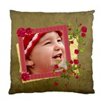 Shabby Rose - Cushion Case (Two Sides)  - Standard Cushion Case (Two Sides)