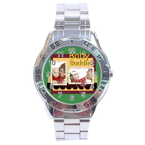 Baby By Joely   Stainless Steel Analogue Watch   Be0qkrcuocq0   Www Artscow Com Front