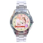 flower - Stainless Steel Analogue Watch