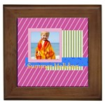 summer - Framed Tile