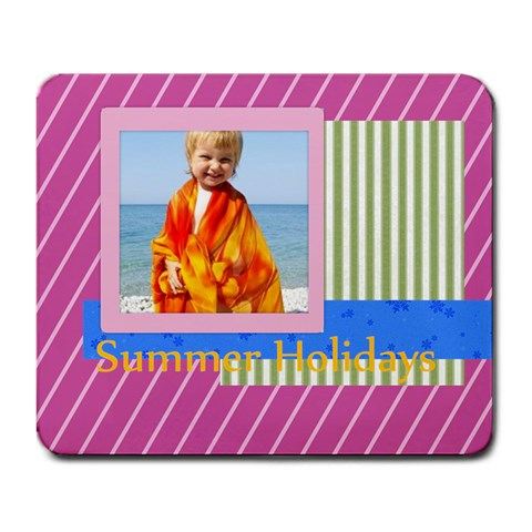 Summer By Man   Large Mousepad   Jlqgwddowcvd   Www Artscow Com Front