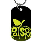 Poison Apple Dog Tag - Dog Tag (One Side)
