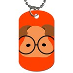 Glasses Dog Tag - Dog Tag (One Side)