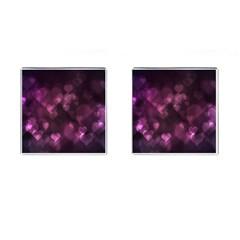 Purple Bokeh Square Cuff Links by PurpleVIP