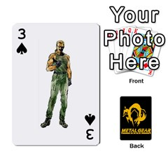 Poker Metal Gear Solid By Rubén   Playing Cards 54 Designs   2c1d1yzrab6z   Www Artscow Com Front - Spade3
