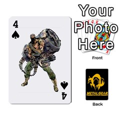 Poker Metal Gear Solid By Rubén   Playing Cards 54 Designs   2c1d1yzrab6z   Www Artscow Com Front - Spade4