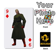 Poker Metal Gear Solid By Rubén   Playing Cards 54 Designs   2c1d1yzrab6z   Www Artscow Com Front - Diamond9