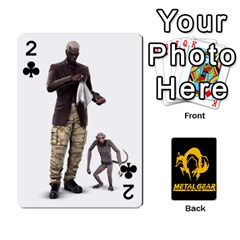Poker Metal Gear Solid By Rubén   Playing Cards 54 Designs   2c1d1yzrab6z   Www Artscow Com Front - Club2