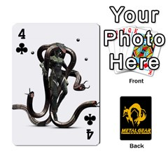 Poker Metal Gear Solid By Rubén   Playing Cards 54 Designs   2c1d1yzrab6z   Www Artscow Com Front - Club4