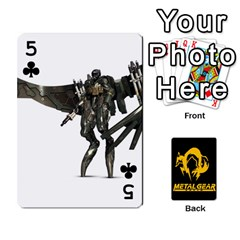 Poker Metal Gear Solid By Rubén   Playing Cards 54 Designs   2c1d1yzrab6z   Www Artscow Com Front - Club5
