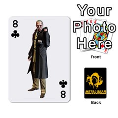 Poker Metal Gear Solid By Rubén   Playing Cards 54 Designs   2c1d1yzrab6z   Www Artscow Com Front - Club8