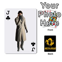 Jack Poker Metal Gear Solid By Rubén   Playing Cards 54 Designs   2c1d1yzrab6z   Www Artscow Com Front - ClubJ