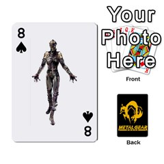 Poker Metal Gear Solid By Rubén   Playing Cards 54 Designs   2c1d1yzrab6z   Www Artscow Com Front - Spade8