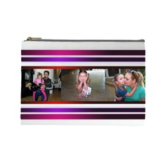 Deca Bag By Anna   Cosmetic Bag (large)   Secplx88can4   Www Artscow Com Front
