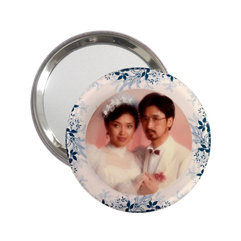 Mirror Couple By Lee Suk Ling   2 25  Handbag Mirror   Siv2nyuh4e90   Www Artscow Com Front