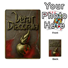 Vera Discordia Akeyrith Army En By Petrf   Multi Purpose Cards (rectangle)   Qla2jtx9c8vh   Www Artscow Com Back 9