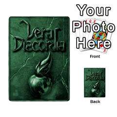 Vera Discordia Akeyrith Army En By Petrf   Multi Purpose Cards (rectangle)   Qla2jtx9c8vh   Www Artscow Com Back 45