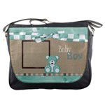 Watch Me Grow-Boy Messenger Bag 1