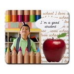 I m a good student - Large Mousepad