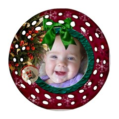 Simplychristmas Vol1  Round Filigree (2sides)  By Picklestar Scraps   Round Filigree Ornament (two Sides)   Pv7276ls5slp   Www Artscow Com Back