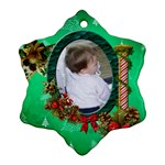 SimplyChristmas Vol1 - Snowflake Ornament(2sides)  - Snowflake Ornament (Two Sides)