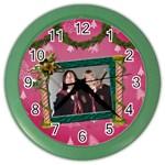 SimplyChristmas Vol1 - Color Wall Clock
