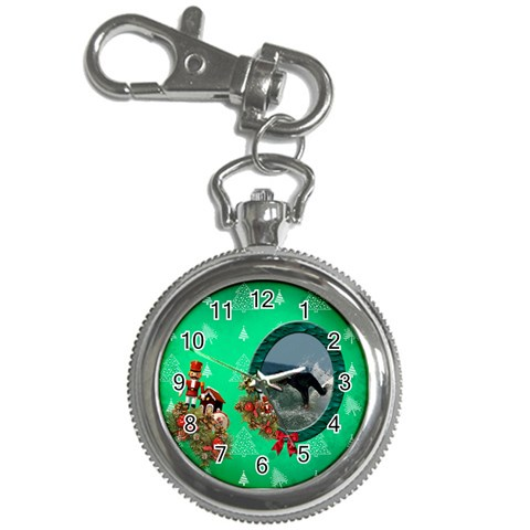 Simplychristmas Vol1   Key Chain Watch  By Picklestar Scraps   Key Chain Watch   Msn3b258oe2b   Www Artscow Com Front