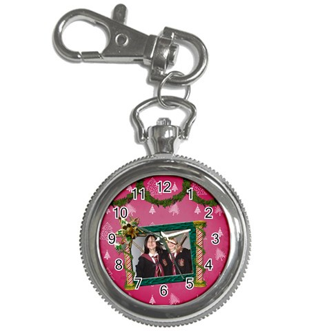 Simplychristmas Vol1   Key Chain Watch  By Picklestar Scraps   Key Chain Watch   R701iyuflyiy   Www Artscow Com Front