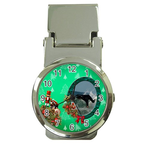 Simplychristmas Vol1   Money Clip Watch  By Picklestar Scraps   Money Clip Watch   066fqafuo57e   Www Artscow Com Front