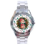 SimplyChristmas Vol1 - Analogue Men - Stainless Steel Analogue Watch