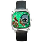 SimplyChristmas Vol1 - Square Metal Watch