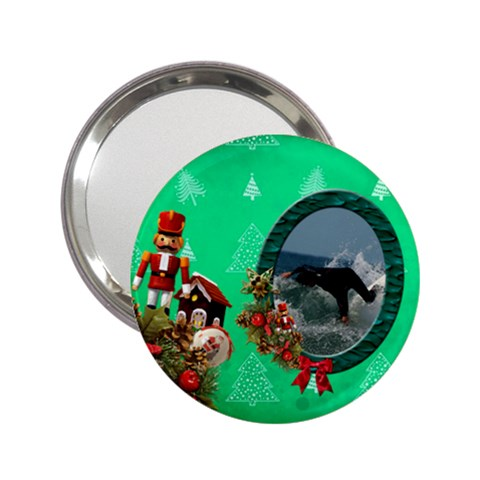 Simplychristmas Vol1   2 25 Handbagmirror  By Picklestar Scraps   2 25  Handbag Mirror   F2uzsmt3m6gr   Www Artscow Com Front