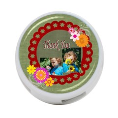 Thank You By Jacob   4 Port Usb Hub (two Sides)   P45xg4uco736   Www Artscow Com Front