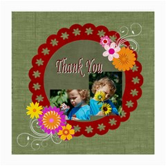 Thank You By Jacob   Medium Glasses Cloth (2 Sides)   E6ljv3oludrq   Www Artscow Com Front