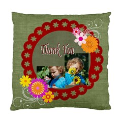 Thank You By Jacob   Standard Cushion Case (two Sides)   2qtvz52dchfm   Www Artscow Com Back