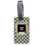 Watch Me Grow Boy Luggage Tag 1 - Luggage Tag (one side)