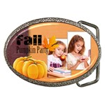 fall - Belt Buckle