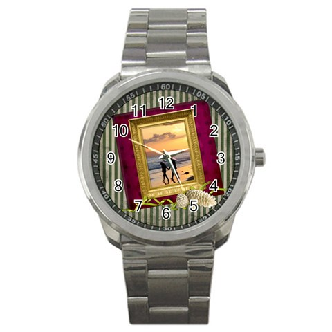 Shabbychristmas Vol1   Sport Metal Watch  By Picklestar Scraps   Sport Metal Watch   V9ku30dpksyi   Www Artscow Com Front