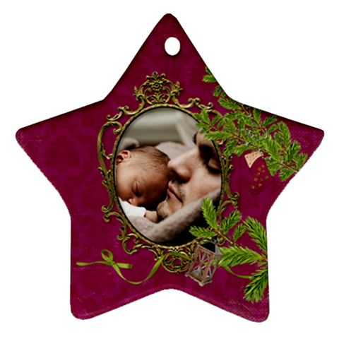 Shabbychristmas Vol1   Ornament(star)  By Picklestar Scraps   Ornament (star)   Il76z9nj7rfh   Www Artscow Com Front