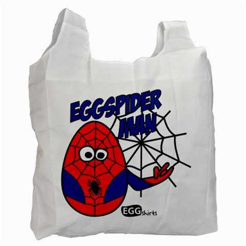 Spiderman   Bag By Carmensita   Recycle Bag (one Side)   3wxcsqvncy4k   Www Artscow Com Front