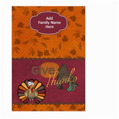 Give Thanks Garden Flag By Bitsoscrap   Large Garden Flag (two Sides)   C8o01szx7bzv   Www Artscow Com Back