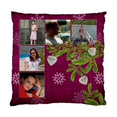 Shabbychristmas Vol1   Cushion Case(2 Sides)  By Picklestar Scraps   Standard Cushion Case (two Sides)   45clmpn03t2x   Www Artscow Com Front