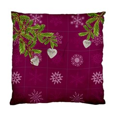 Shabbychristmas Vol1   Cushion Case(2 Sides)  By Picklestar Scraps   Standard Cushion Case (two Sides)   45clmpn03t2x   Www Artscow Com Back