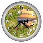 ShabbyChristmas Vol1 - Wall Clock (Silver)